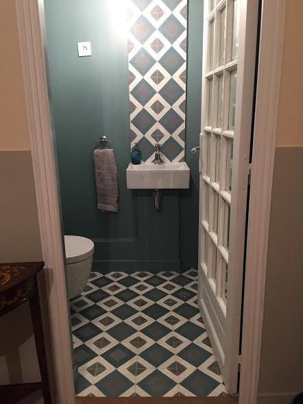 Les 17 meilleures images du tableau carreaux de ciment - Toilette carrelage ...