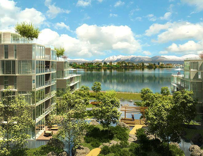 Across the river from the City of Vancouver will be a vibrant neighbourhood of riverfront homes. Surrounded by views of snow dusted peaks, a surging river and a wealth of cultures, the community of River Green will be in easy reach of everything West Coast living offers...