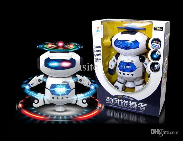 Wholesale-2015 New learning & education intelligent electronic pet action music dance spacemen robot toys, birthday gift child