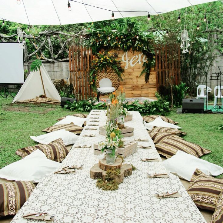 Rustic Bohemian Theme For My 18th Birthday Boho Birthday Party