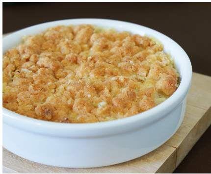 Recette Crumble de courgette au poulet par delph4415 - recette de la catégorie Plat principal - divers