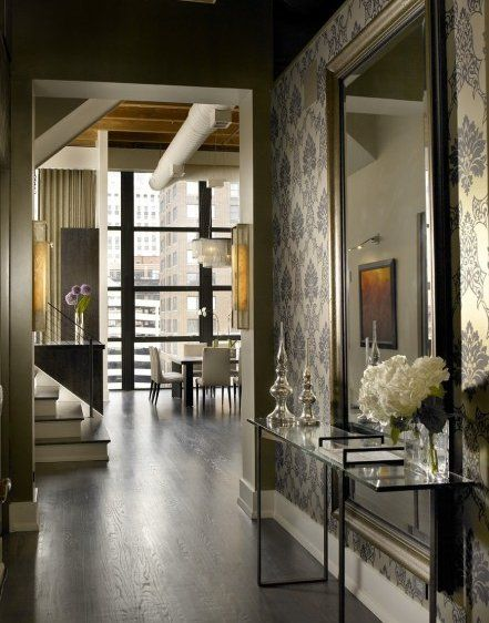 using traditional and contemporary decorating elements