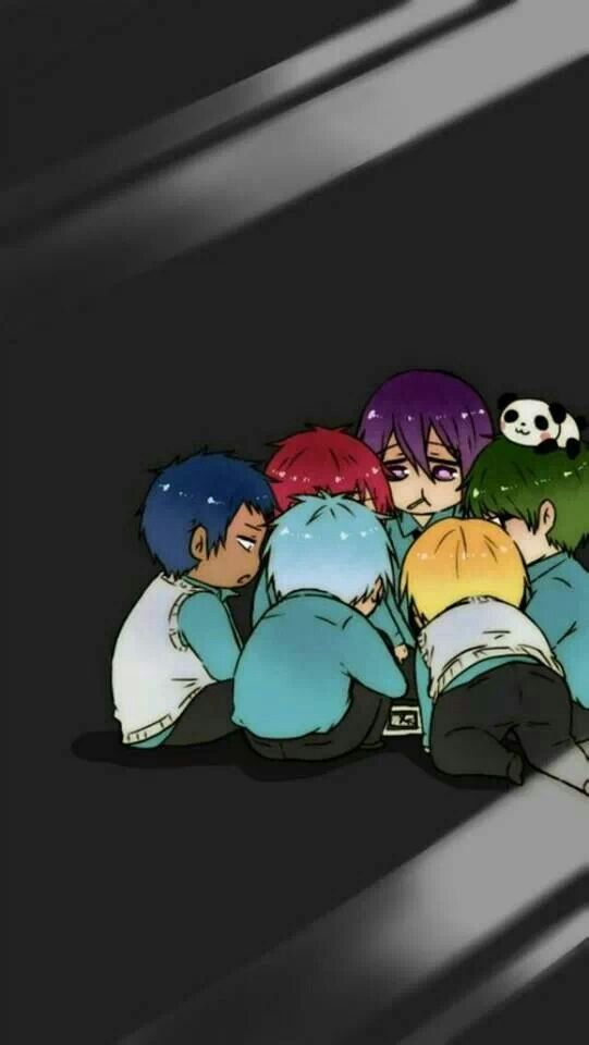 Kuroko no Basket!!! <<<<<<<< I'm pretty sure they are plotting a way to get out of there...