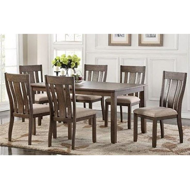 Daysi 7 Piece Breakfast Nook Dining Set