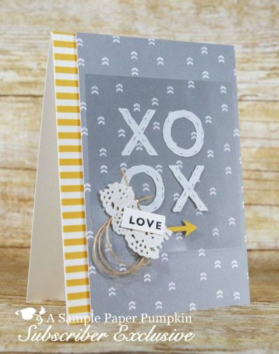 My Paper Pumpkin subscribers get 10-13 exclusive project ideas each month. This is a peek at one of the December 2016 Another Great Year kit exclusive alternate projects… #stampyourartout - Stampin' Up!® - Stamp Your Art Out! www.stampyourartout.com