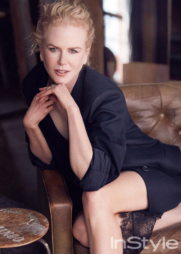 Nicole Kidman Stuns for American InStyle Magazine July 2017 Cover Story