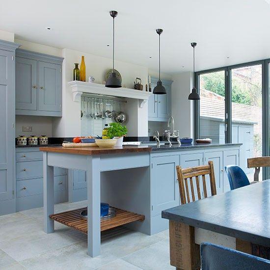 Grey Kitchen Pinterest: 25+ Best Ideas About Blue Grey Kitchens On Pinterest