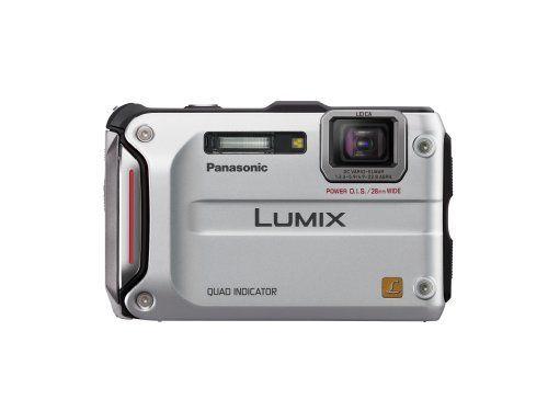 Panasonic Lumix TS4 12.1 TOUGH Waterproof Digital Camera with 4.6x Optical Zoom (Silver) for $269.00