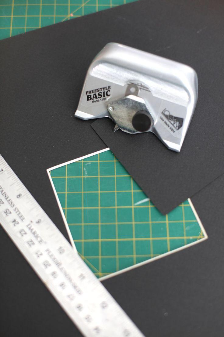 How to Cut a Photo Mat