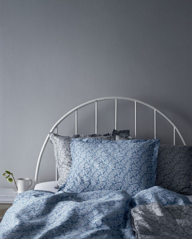 Good morning, with elegant Gant Home bedding in trendy Paisely. #royaldesign #ganthome #gant #ashpaisely #paisely #bedroom #bedding #bedlinen #duvetcover #pillowcase #duvet #sängkläder #påslakan #goodnight #goodmorning #godnatt #godmorgon #sovrum #design #interior #lifestyle #autumn #aw16 #sleep #sova #bed #säng