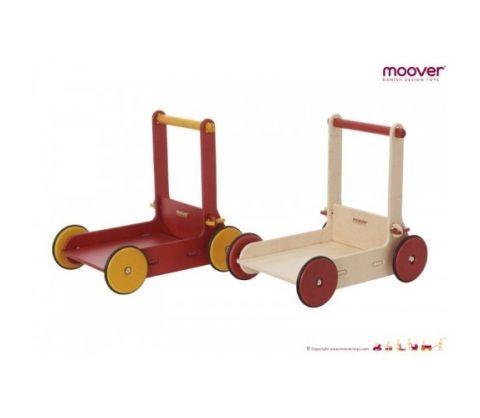 Moover Toys Chodzik Pchacz Naturalne Drewno
