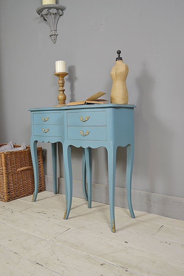 Pair Of 2 Drawer Vintage French Bedside Tables Bedroom Storage The Treasure Trove Shabby Chic Furniture Acc In 2019