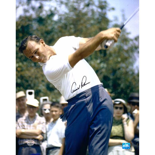 "Arnold Palmer Fanatics Authentic Autographed 16"" x 20"" Classic Swing Photograph - $799.99"