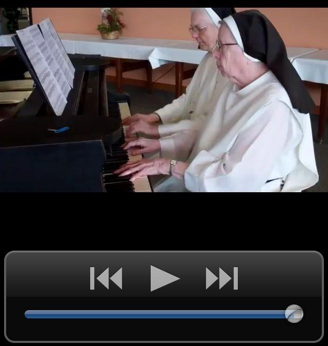 Nuns Playing Happy Birthday Song Humor Funny
