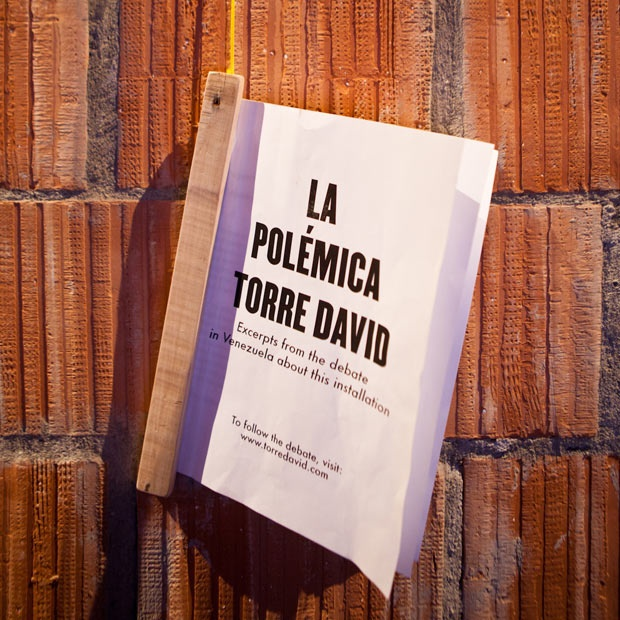 Torre David / Gran Horizonte - Caracas' 45-story slum examined at the Architecture Biennale in Venice