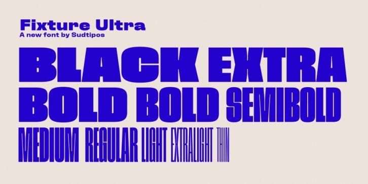 Fixture Font DOWNLOAD #font #fonts #typography #typeface #webDesign