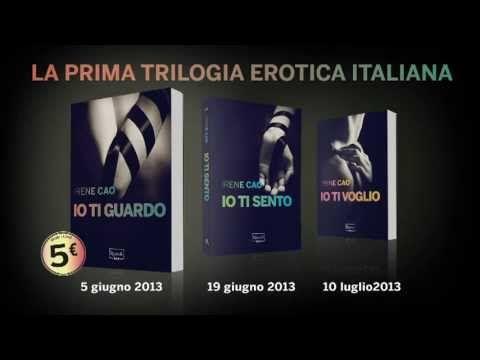 Lasciati sedurre dalla prima trilogia erotica italiana. Un viaggio senza limiti alla scoperta del piacere  Guarda il video: http://www.youtube.com/watch?v=44uu0hHzvII