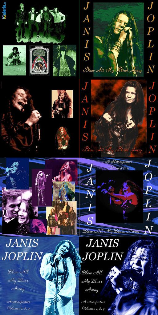 Janis Joplin  | Blow All My Blues Away: A Retrospective 1962 - 1970 | 2009 Box Set | 9 CD's | 154 Tracks | 10:04 Hrs | [color=Red]OGG | VBR KBPS[/color] | 235 MB | 1 Link Self-Extracting Compression | Compresion Auto-Extraible (.EXE)