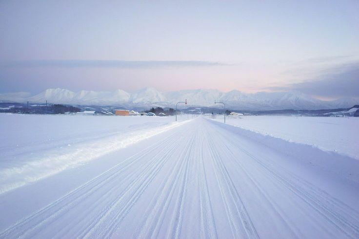 Mt.Tokachi & The Straight Line Road,Hokkaido