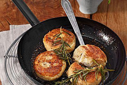 Kartoffelfrikadellen gefüllt mit Schafskäse 1