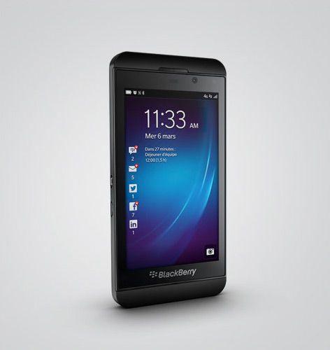 BlackBerry Z10 629€