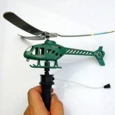 #Banggood 2шт ручки тянуть самолеты вертолеты питания детей открытый игрушки (933178) #SuperDeals