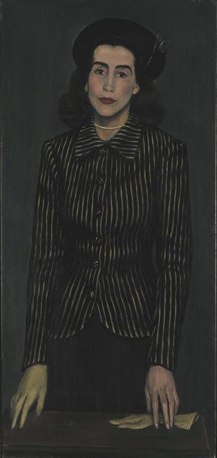 Portrait of Maria Rusen, 1943  Yiannis Moralis