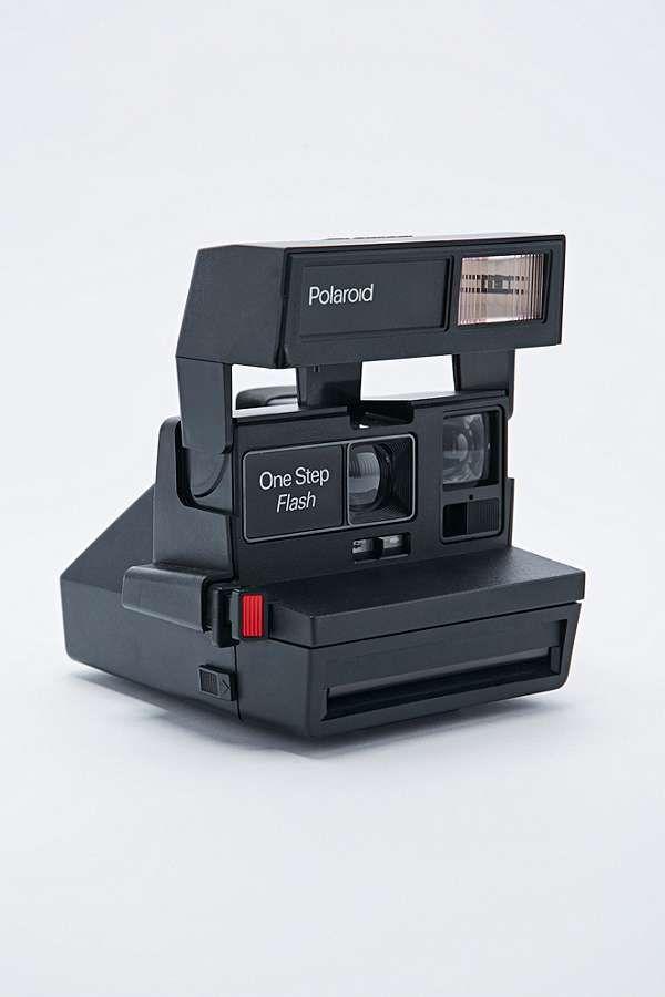 Slide View: 1: Impossible - Appareil photo Polaroid 600 style 80's et pellicule