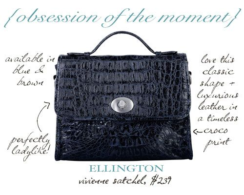 Obsession of the Moment: Ellington Handbags Vivienne Satchel » The Daily Obsession