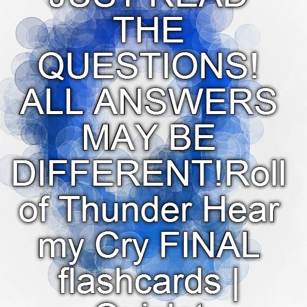Roll of thunder hear my cry essay titles