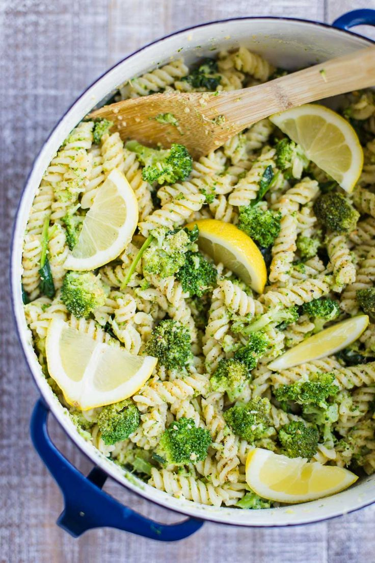 This Vegan Lemon Broccoli Pasta Salad recipe is VERY quick and easy to make as well as a dairy-free and healthy alternative!!