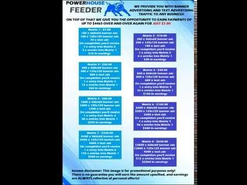 POWERHOUSE FEEDER Matrix Levels Explained