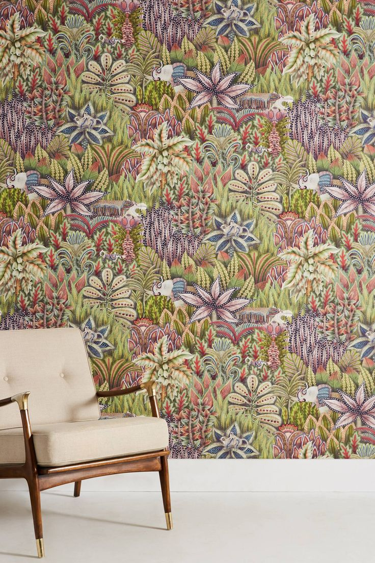 Shop the Lush Wildlife Wallpaper and more Anthropologie at Anthropologie today. Read customer reviews, discover product details and more.