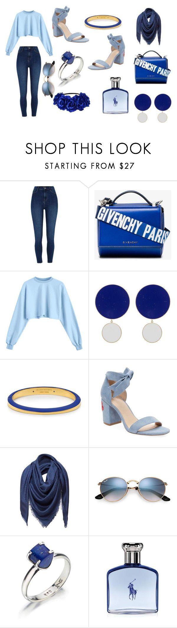 """Blue"" by zdmtlkmp on Polyvore featuring Givenchy, Joanna Laura Constantine, Henri Bendel, Alex + Alex, Loewe, Lazuli and Ralph Lauren"