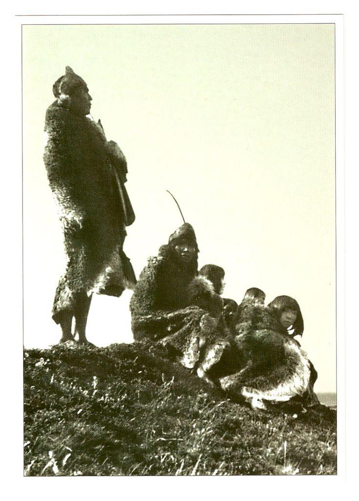Los últimos selk'nam en Puerto Harris (Isla Dawson), en 1896. Tierra del Fuego