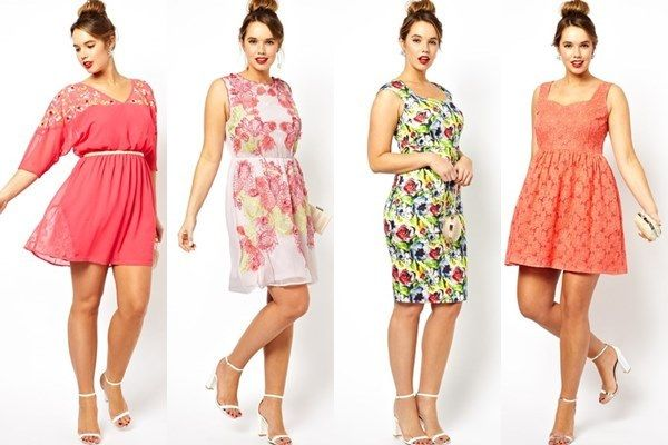 Spring Summer 2014 Plus Size Guest Dresses By Asos