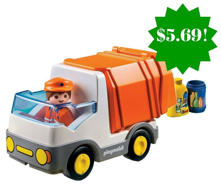 Amazon: PLAYMOBIL 1.2.3 Recycling Truck Only $5.69 (Reg. $11) - http://www.couponsforyourfamily.com/amazon-playmobil-1-2-3-recycling-truck-only-5-69-reg-11/