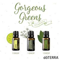Diffuse this blend when you want to feel lean, clean and green! Like maybe after Sunday dinner? ;)