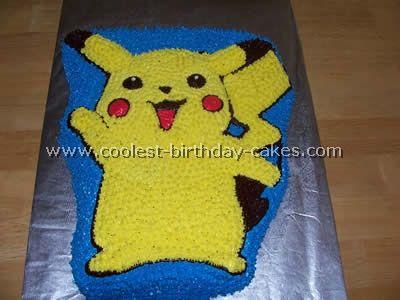 Pokemon Cake Photo