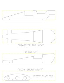 Free Pinewood Derby Car Templates--printable, lots to choose from.