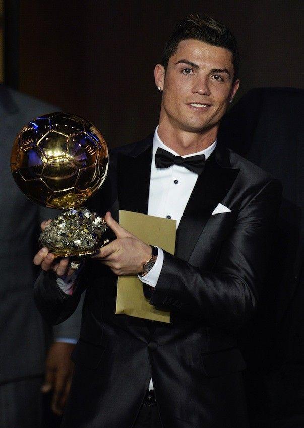 Cristiano Ronaldo al final recibió el Balón de Oro