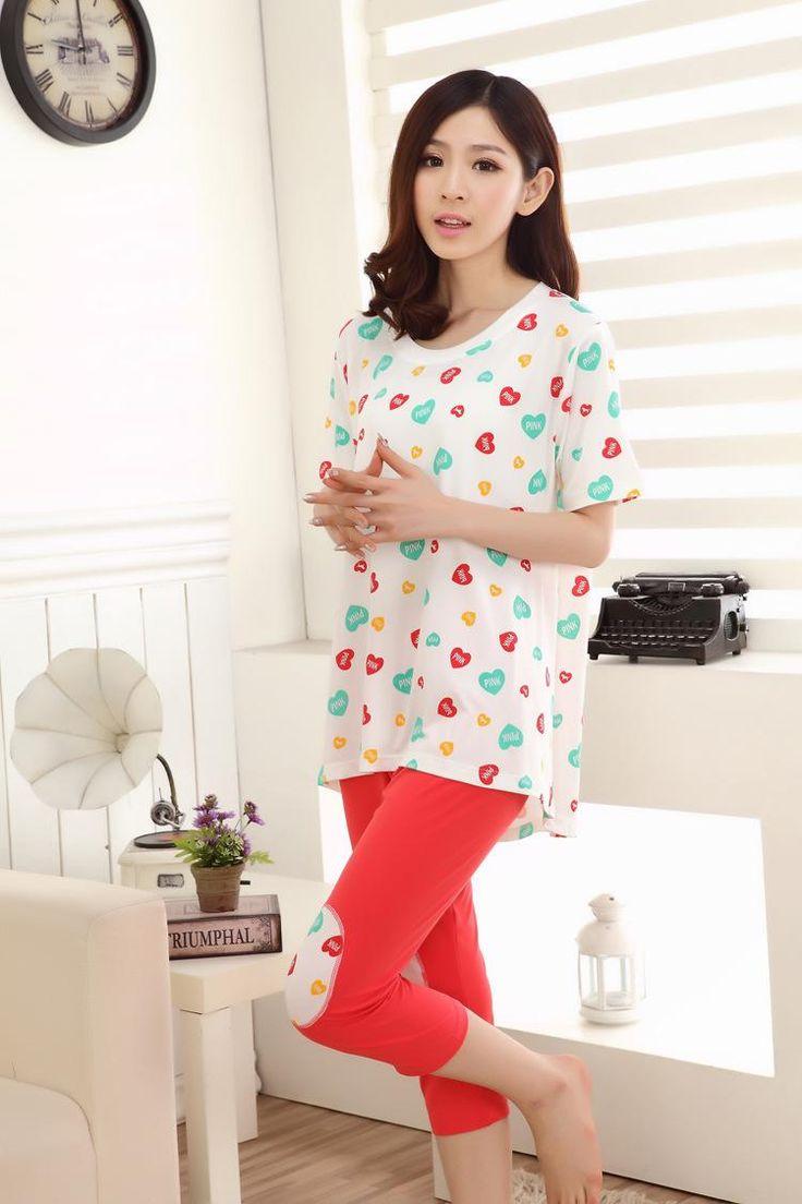 2017 2015 Kigurumi Sleepwear Women Pijama Summer Short Sleeve T ...