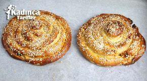 Pastane Usulu Tahinli Çörek Tarifi | Kadınca Tarifler | Kolay ve Nefis Yemek Tarifleri Sitesi - Oktay Usta