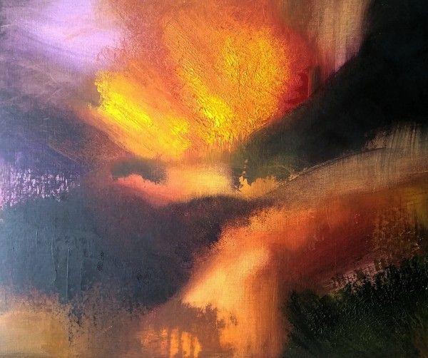 Saras - Målningar, främst i olja och akryl