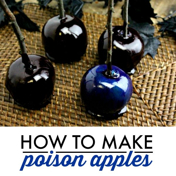 How to Make Poison Apples via @Wannabite