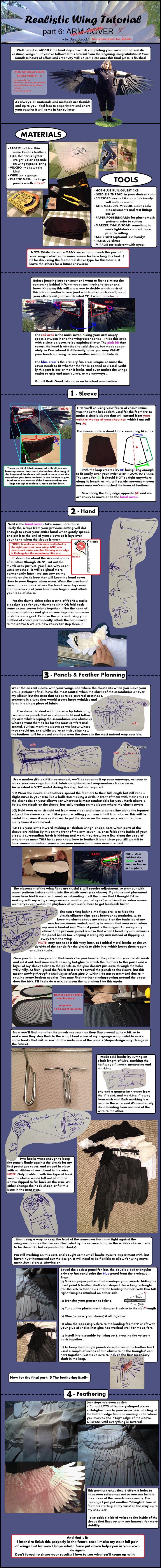 Realistic Wing Tutorial - P.6 WIP by Sunnybrook1.deviantart.com on @DeviantArt