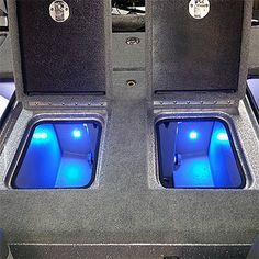 Quad Beam Livewell / Cooler LED Light Pair - Submersible   Boat LED Live Well Lighting Kits   Boating LED Applications   Blue Water LED Products
