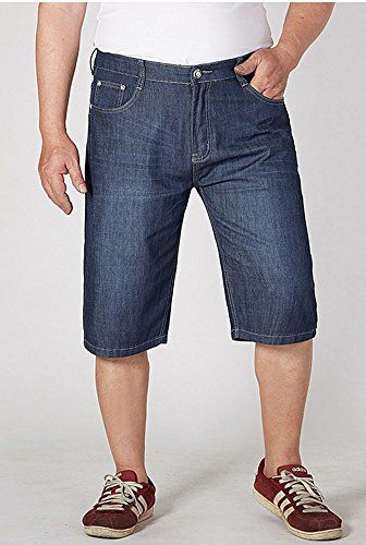 1d433d4a2e8 Allonly Men s Fashion Casual Relaxed Fit Stretch Denim Jean Short Plus Size  Big and Tall