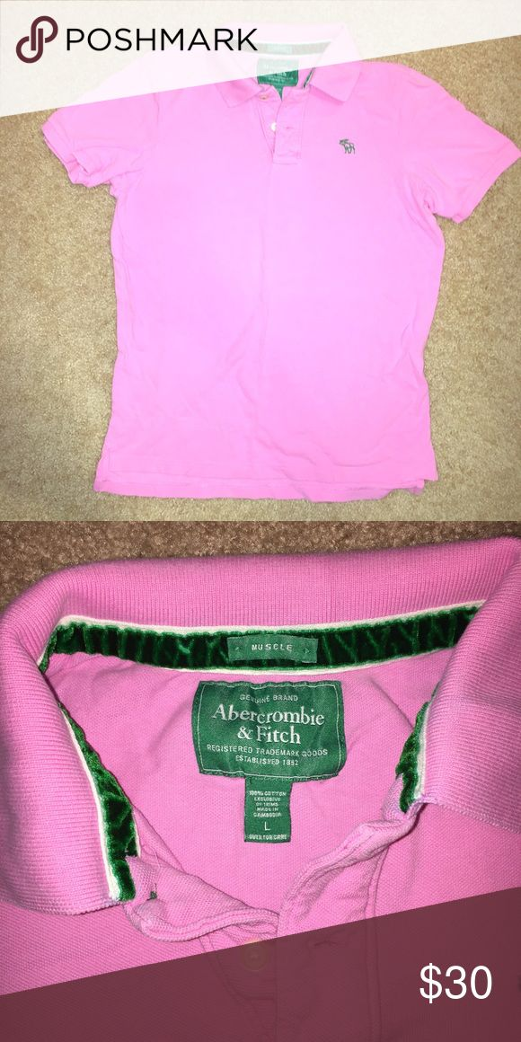 Abercrombie & fitch pink polo shirt Abercrombie & fitch pink polo shirt Abercrombie & Fitch Shirts