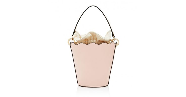 For covetable style and timeless elegance, finish your look with our Sienna Scalloped Bucket Bag.